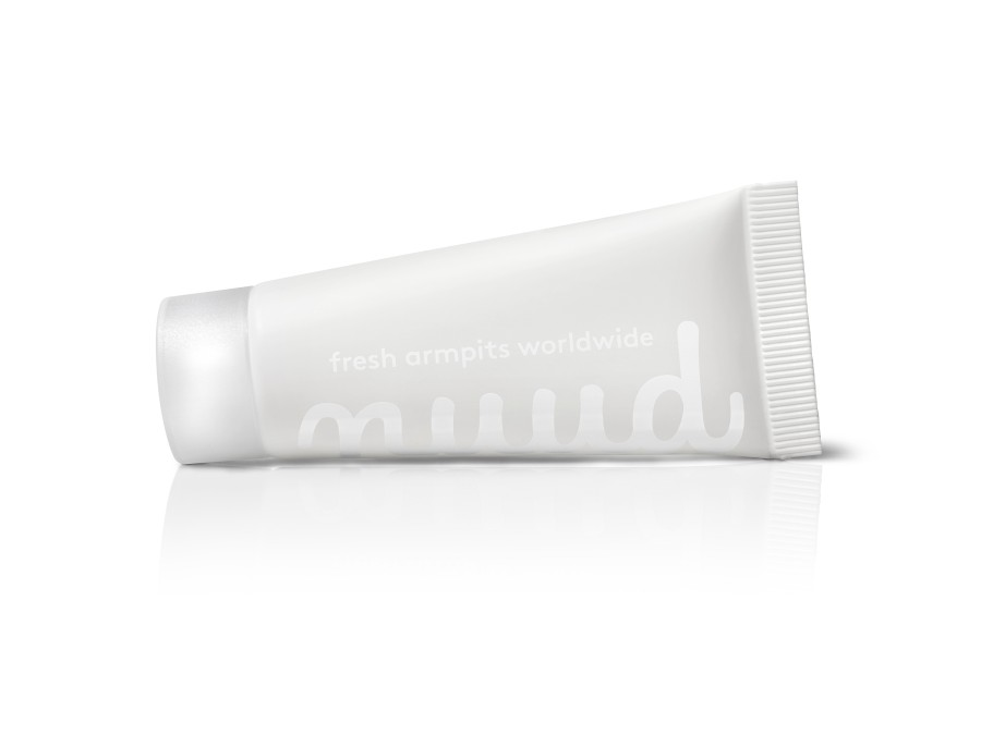 100% natural, vegan deodorant Nuud with micro silver family pack 4x20ml