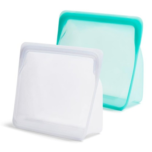 REUSABLE SILICONE STAND-UP MEGA 2-PACK
