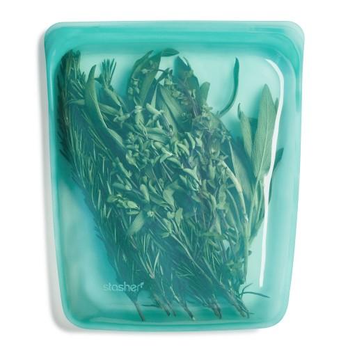 Daugkartinio naudojimo didysis Aqua stasher silikoninis maišelis