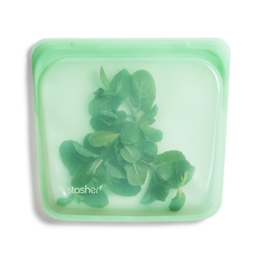 Reusable Silicone Sandwich Bag - Mint