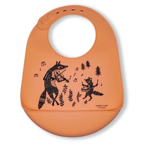 Bucket-Bibs Foxes