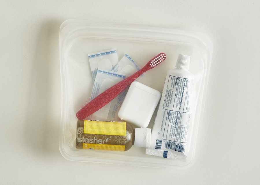 Reusable Silicone Sandwich Bag  Clear