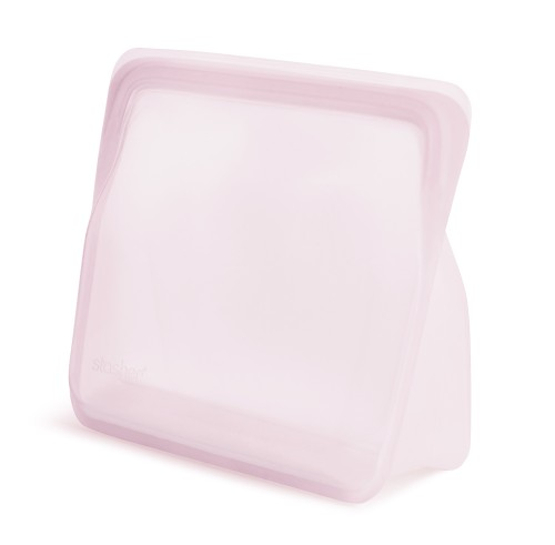 Reusable silicone stand-up rose bag