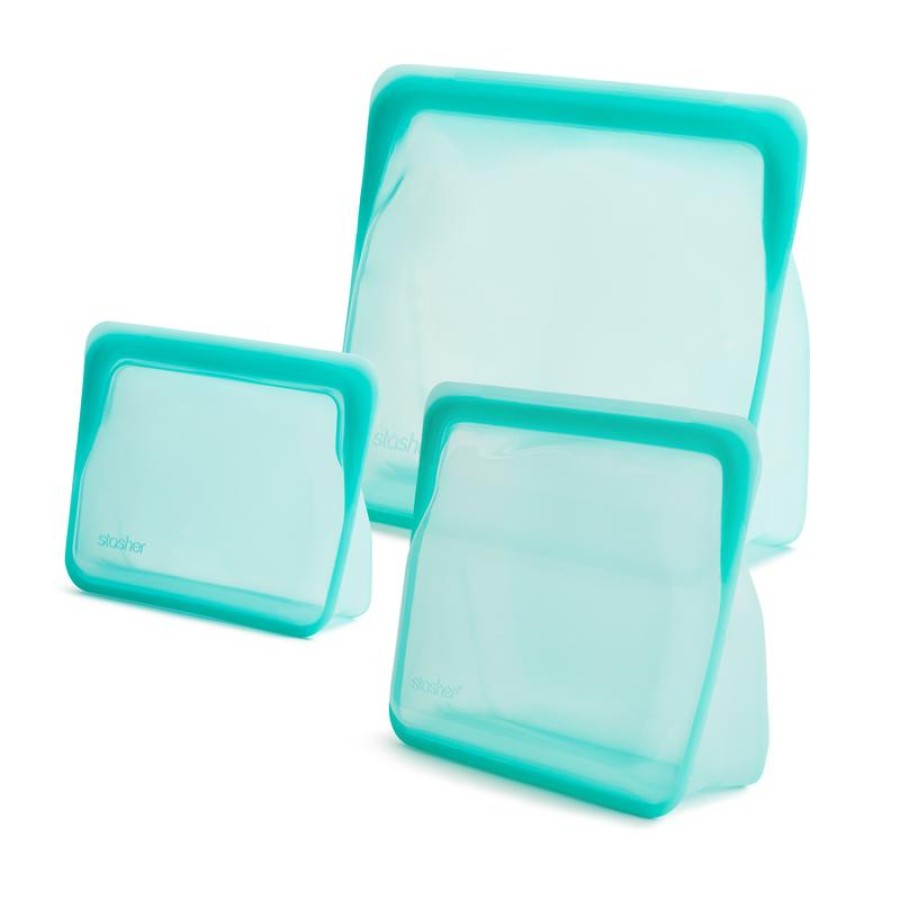 REUSABLE SILICONE STAND-UP TRIO