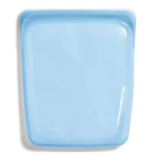 Reusable Silicone Half-Gallon Bag Blue