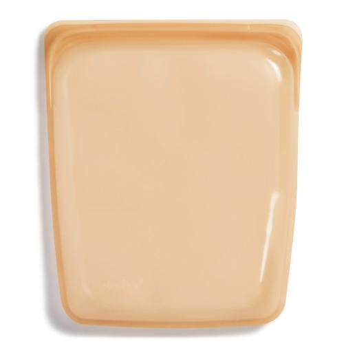 Reusable Silicone Half-Gallon Bag Orange