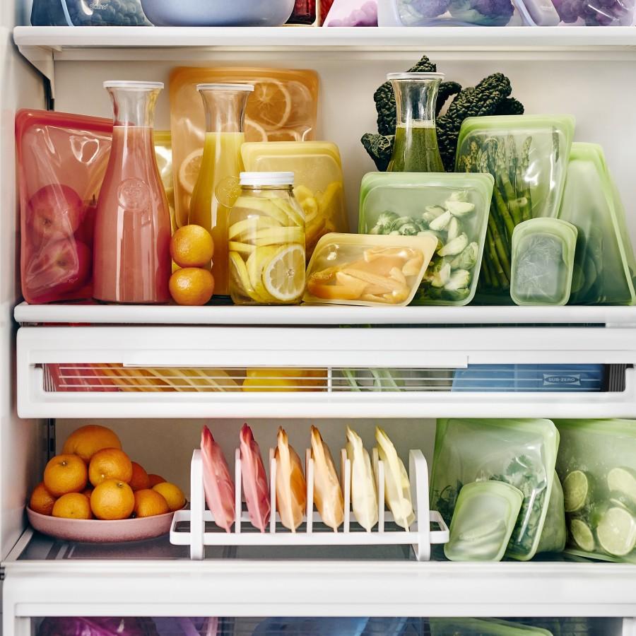 Reusable Silicone Snack Green