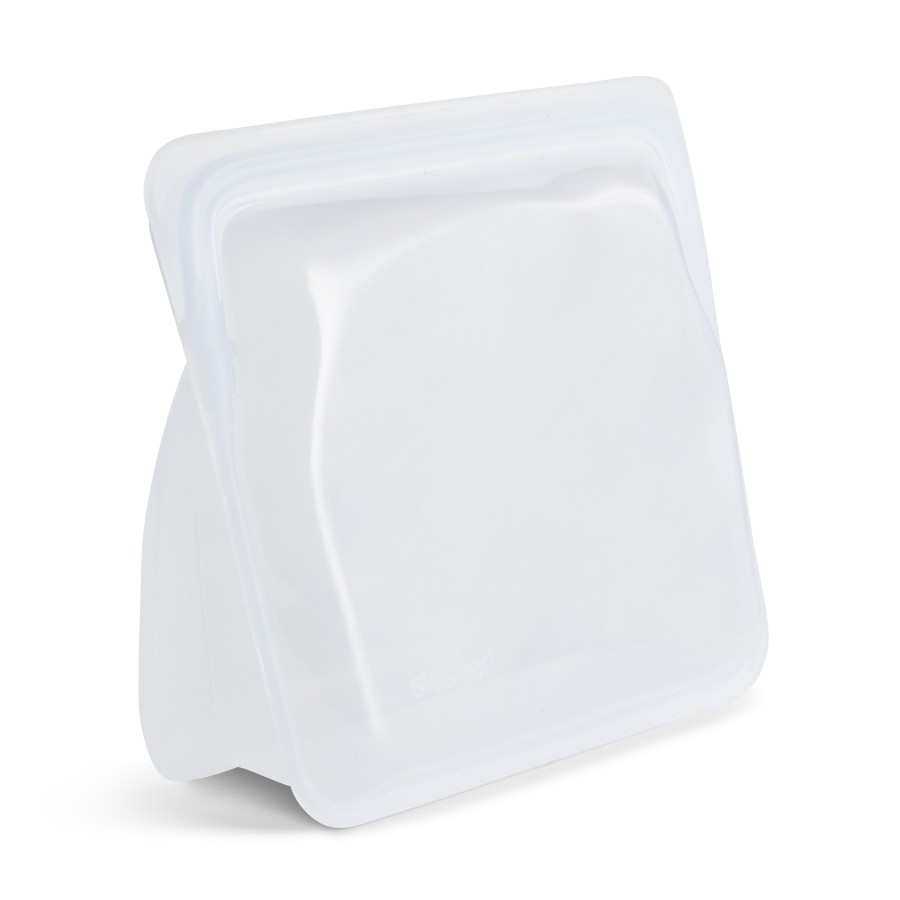 Reusable silicone stand-up bag